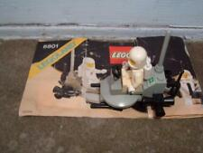 LEGO-6801-SPACE MOON BUGGY 1981 WITH INSTRUCTIONS VINTAGE UNBOXED SEE PHOTOS !