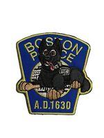 Boston Police K9 Custom Patch