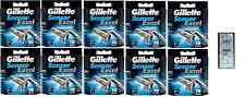 Mens Gillette Sensor Excel Razor Blades, 100 Cartridges + Free LovingCare Packet