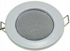 Decken-Einbaulautsprecher Lautsprecher Halogen-Look 8cm Ø 6cm Einbau weiß 20807