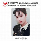 THE BOYZ 5th mini album Chase Official Photocard Makestar 3rd Benefit K-POP KPOP