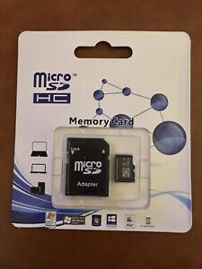 MicroSD HC Flash Memory Card 128GB MicroSD HC | Memory Card Reader Included