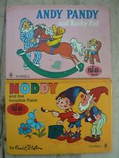 Noddy and the Invisible Paint, Andy Pandy & Rocky Red, 2  Child's Pop-Up Books