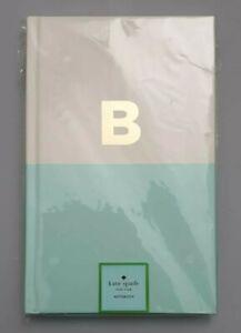 Kate Spade New York Initial 'B' Alphabet Notebook. Brand New.