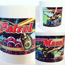 Moon Patrol Arcade Ceramic Coffee Cup Mug 11oz Williams NEW