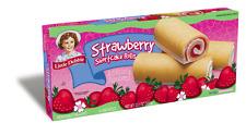 Little Debbie Strawberry Shortcake Rolls Snack Cakes