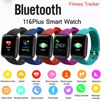 Smart Bracelet Watch Heart Rate Monitor Blood Pressure For iOS Fitness Tracker