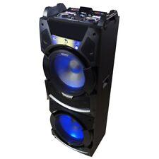 ALTAVOZ TORRE DJ INALAMBRICO BLUETOOTH 300W MANDO KARAOKE MICRO LED USB GARANTIA