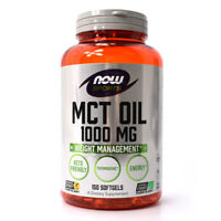 NOW Foods MCT Oil 1000mg - 150 Softgels
