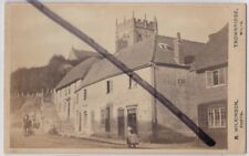 Potterne, Nr. Devizes, Wiltshire: Social History: Street View CDV Photograph