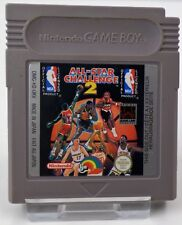 Nintendo Game Boy GB - Track & Field + NBA All Star Challenge 2