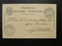 Switzerland 1906 Postal Card Used - Z6750
