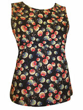 Topshop Floral Cotton Casual Tops & Shirts for Women