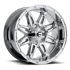 (4) 20x10 Fuel Offroad D530 Chrome Hostage Wheels 8x170 For 03-19 F-250 F-350