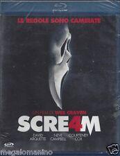 Blu-ray **SCREAM 4 ~ SCRE4M ~ LE REGOLE SONO CAMBIATE** nuovo sigillato 2011