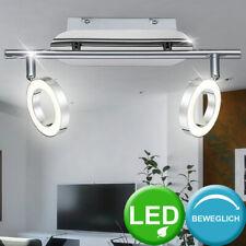 2er Set LED 5W Wand Leuchte Strahler beweglich Spot Lampe Chrom Wohn Ess Zimmer