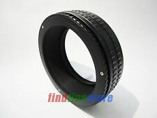M65 to M65 Adjustable Focusing Helicoid Adapter 25-55mm Macro Extension tube