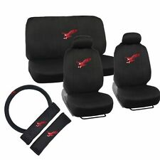 11 piece Eagle Exquisite Seat Cover Full Set Front and Rear