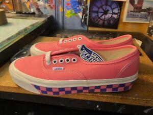 Vans Authentic 44 DX Anaheim Factory OG Pink Purple Size US 7 Men (8.5 Women)