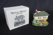"""Dept 56 Dickens Village Miniature in Box - """"Scrooge & Marley"""" 1986"""