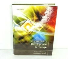 Organization Development and Change by Thomas Cummings 10th Edition Hard Cover