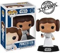 NEW STAR WARS Princess Leia 04 POP! MOVIE Vinyl Bobblehead Bobble Funko 2319
