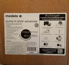 New Sealed Medela Pump In Style Advanced Double Breast Pump Starter Kit Set