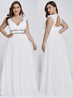 Ever-Pretty Plus Size Lady Mother of Bride Prom Holiday Party Gowns Dress 08697