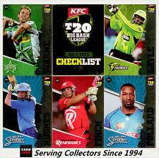 Cricket Card Set-2012/13 Cricket Australia T20 Big Bash Card Base Set (106)