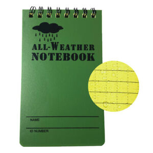 Ziptac Waterproof Notepad