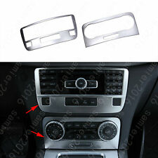 2x Front Console Adjust Frame Cover Trim For Mercedes-Benz GLK Class X204 09-15