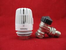 "Heimeier Radiator thermostat valve Corner 1/2 "" + Head K Probe"