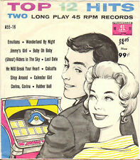 """DIVERS """"12 TOP HITS"""" POP ROCK AND ROLL DOUBLE 60'S EP PROMENADE A-55-16"""
