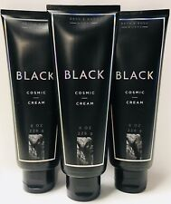 3 Bath & Body Works Black Cosmic Body Cream 8 oz 226 ml New Fragrance Experiment