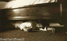 VIK MUNIZ 'Under the Bed' SIGNED Ambrotype Photograph from 'Clayton Days' Framed