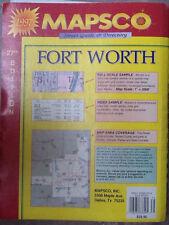 MAPSCO Fort Worth Street Guide & Directory ISBN 1-56966-529-X