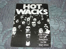 Hot Wacks  Fanzine  1979  Graham Parker, David Ackles, Robert Johnson