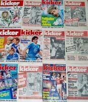 28x Kicker 1986 Sportmagazin Sportzeitung Fussball Zeitschrift Sammlung Heft alt