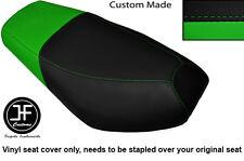 BLACK & LIGHT GREEN VINYL CUSTOM FITS CPI OLIVER SPORT 50 DUAL SEAT COVER ONLY