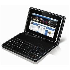 7 Inch Tablet Cover Case With USB Keyboard & Stand 4 All 7 Inch Tablets(N-1020)