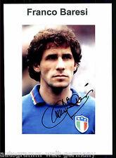 Franco Baresi  Italien Weltmeister 1982 TOP Foto Orig. Sign.  + G 9118