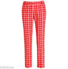 TOUR EDITION~Puma Golf KINETIC PLAID PANT Stretch Cotton Trouser~Womens sz 42/XL