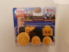 Thomas The Tank Engine & Friends WOOD TRAIN STEPHEN THE ROCKET WOODEN NEW IN BOX