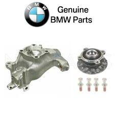 NEW BMW E39 Front Driver Left Steering Knuckle & Wheel Hub with Bearing Genuine
