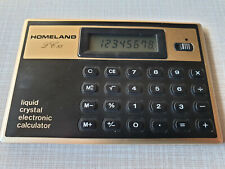 RARE VINTAGE TOSHIBA HOMELAND LC-85 Calculator