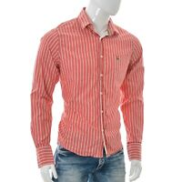 Jack Wills Mens Button Front casual Shirt top SIZE M Medium Striped Long Sleeve