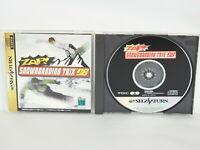 ZAP SNOWBOARDING TRIX 98 Snow Boarding Sega Saturn Japan Game ss