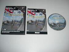 VFR LONDON Pc DVD Rom Add-On Expansion Microsoft Flight Simulator Sim X FSX MSFS