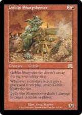 GOBLIN SHARPSHOOTER Onslaught MTG Red Creature — Goblin RARE
