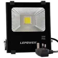 Lepower 30W LED Floodlight, Super Bright Outdoor Work Light, IP66 Waterproof